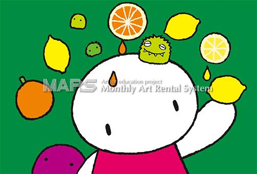 Fruits juice画像