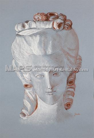 Buste de Marie-Antoinette 「マリーアントワネット像」画像