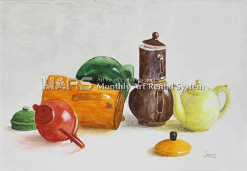 Théières et cafetières 「紅茶ポットとコーヒーポット」画像