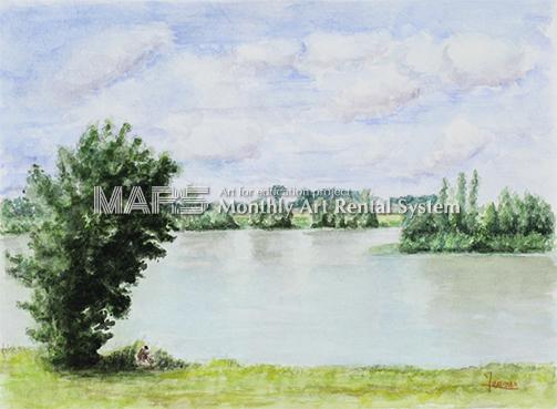 Saint-Dyé sur Loire 「サンディエのロワール川」画像