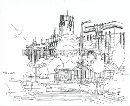 京都市役所画像