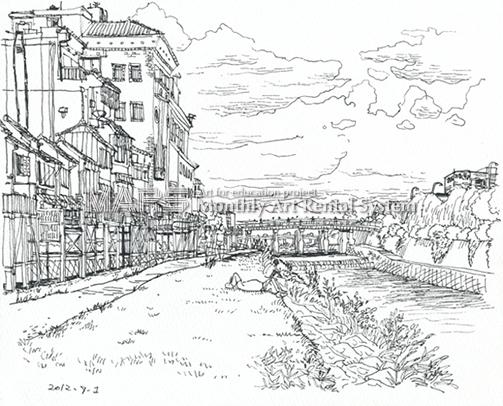 鴨川 三条大橋画像