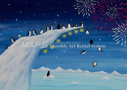 ペンギンの夏画像