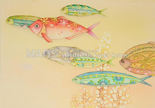 彩り魚画像