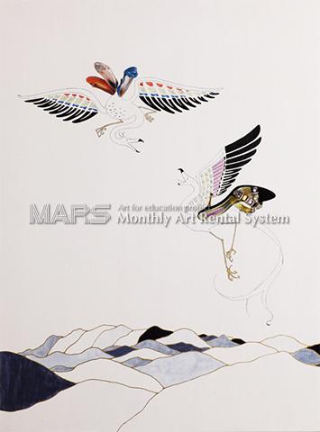 鳥獣図Ⅰ画像