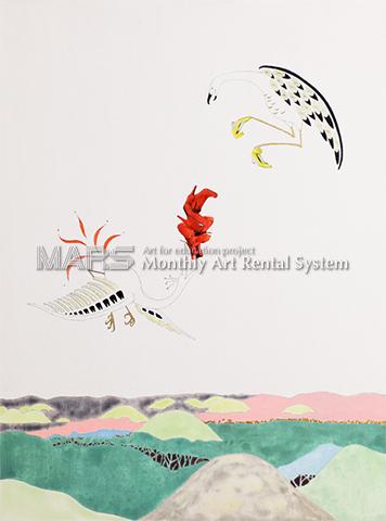 鳥獣図Ⅱ画像
